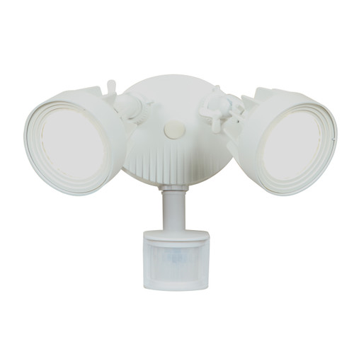 Access Lighting Stealth Collection Security Spotlight with Motion Sensor in White Finish