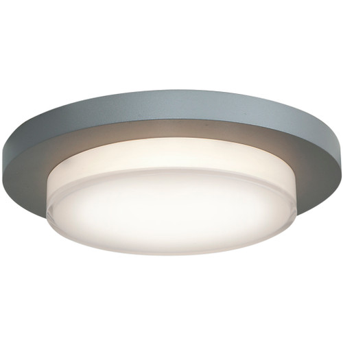 Access Lighting Link Plus Collection Dimmable LED Flush Mount in Satin Finish
