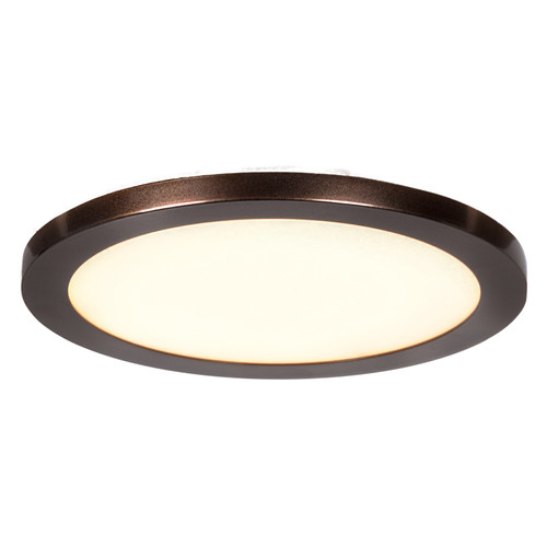 Access Lighting Disc Collection LED Round Flush Mount in Bronze Finish