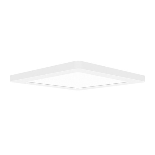 Access Lighting ModPLUS Collection LED Square Flush Mount in White Finish