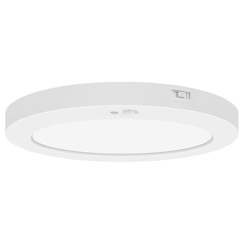 Access Lighting ModPLUS Collection Motion Sensor LED Round Flush Mount in White Finish
