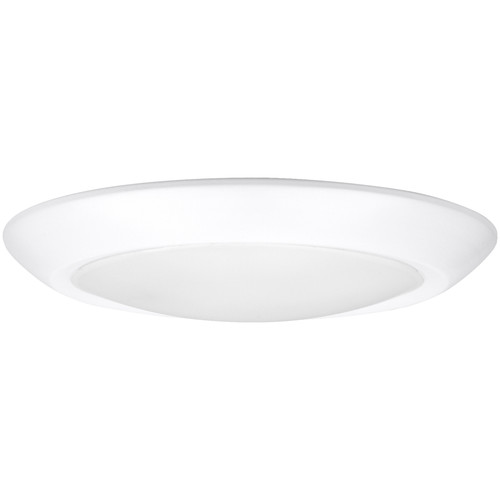 Access Lighting Mini II Collection Wet Location LED Flush Mount in White Finish