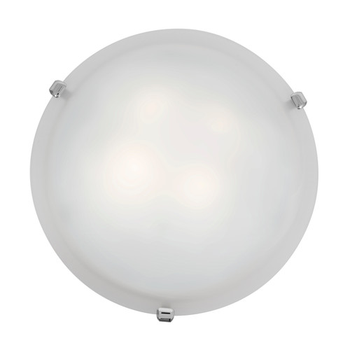 Access Lighting Mona Collection Flush Mount in Chrome Finish