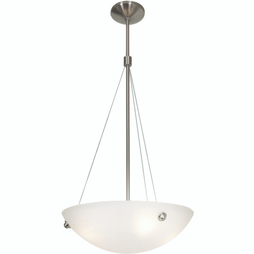 Access Lighting Noya Collection Cable Pendant in Brushed Steel Finish