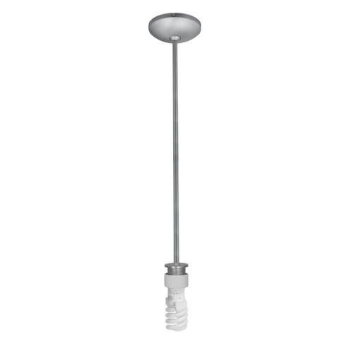 Access Lighting Julia Collection Stem Pendant Assembly in Brushed Steel Finish