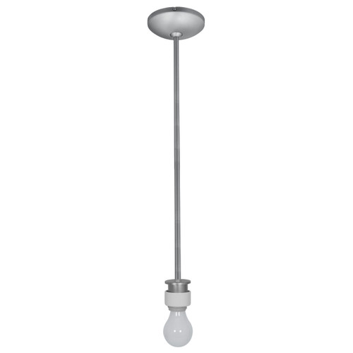 Access Lighting Janine Collection Stem Pendant Assembly in Brushed Steel Finish