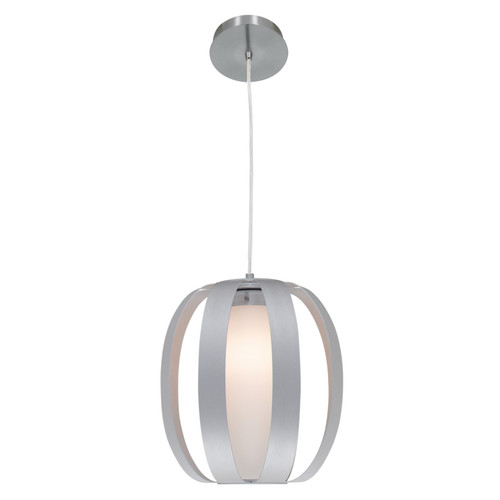Access Lighting Helix Collection Pendant in Aluminum Finish