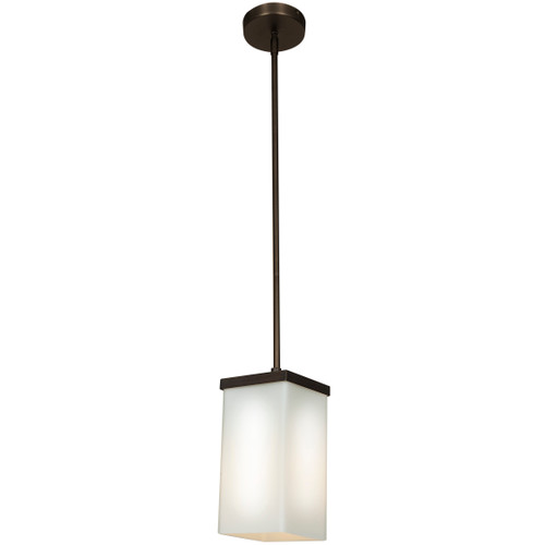 Access Lighting Basik Collection 1-Light Pendant in Oil Rubbed Bronze Finish