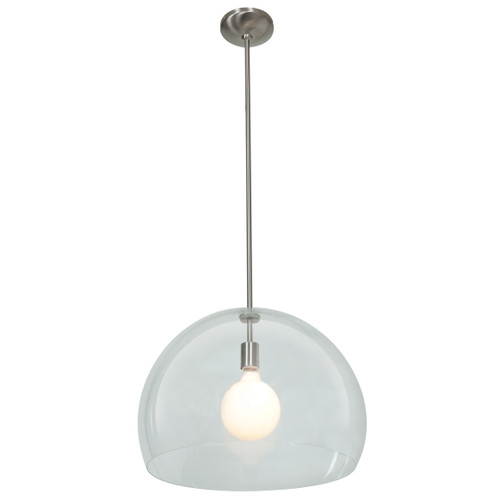 Access Lighting Acrolite Collection Pendant in Brushed Steel Finish
