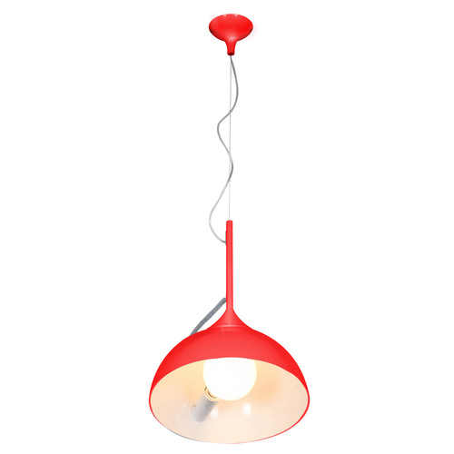 Access Lighting Magneto Collection Adjustable Angle Pendant in Red Finish