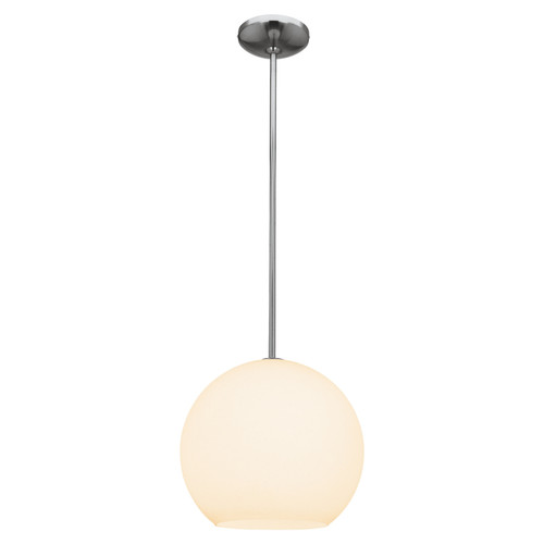 Access Lighting Nitrogen Collection Ball Pendant (m) in Brushed Steel Finish