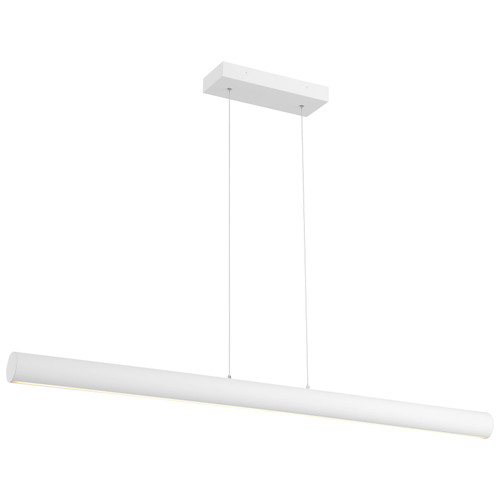 Access Lighting Carmel Collection LED Island Light in Matte White Finish