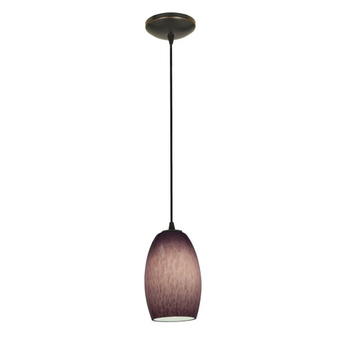 Access Lighting Chianti Collection 1-Light Pendant in Oil Rubbed Bronze Finish