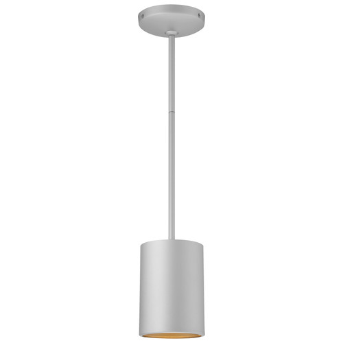 Access Lighting Pilson Collection 1 Light Rod Pendant in Satin Finish