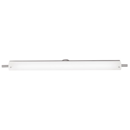 Access Lighting Vail Collection Bath Vanity in Brushed Steel Finish