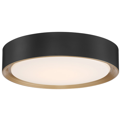 Access Lighting Malaga Collection LED Flush Mount in Matte Black Finish
