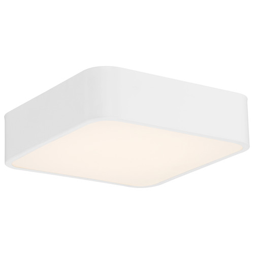 Access Lighting Granada Collection LED Flush Mount in White Finish