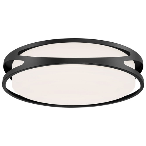Access Lighting Lucia Collection LED Flush Mount in Black Finish