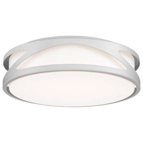 Access Lighting Lucia Collection LED Flush Mount in Satin Finish