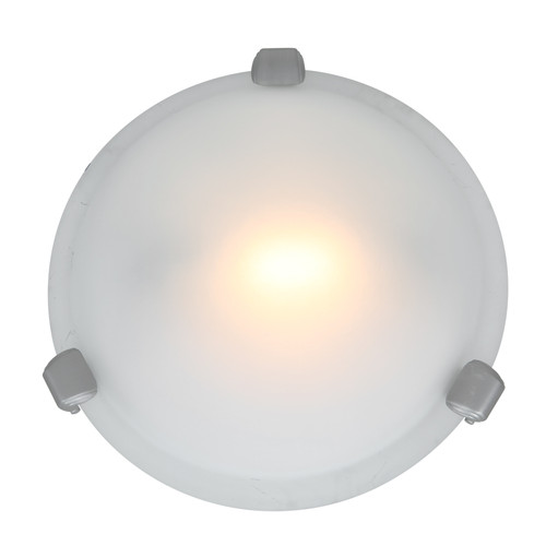 Access Lighting Nimbus Collection Flush Mount in Satin Finish