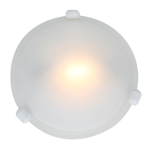Access Lighting Nimbus Collection Flush Mount in White Finish