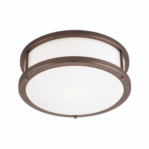 Access Lighting Conga Collection Flush Mount in Bronze Finish