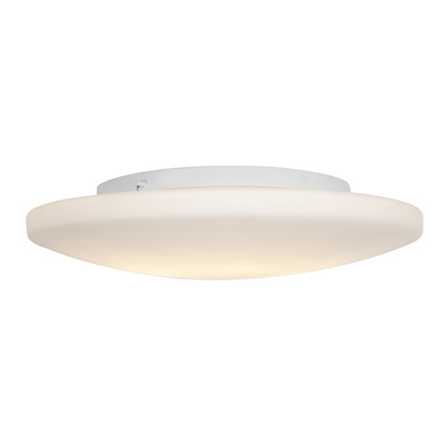 Access Lighting Orion Collection Dimmable LED Flush Mount in White Finish
