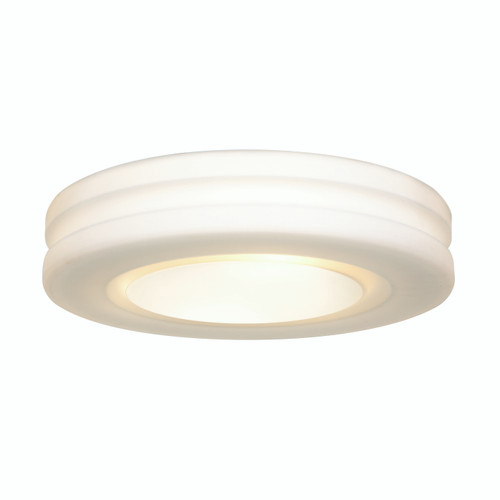 Access Lighting Altum Collection Dimmable LED Flush Mount in White Finish