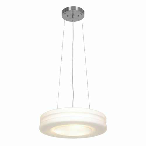 Access Lighting Altum Collection Aircraft Cable Pendant in Brushed Steel Finish