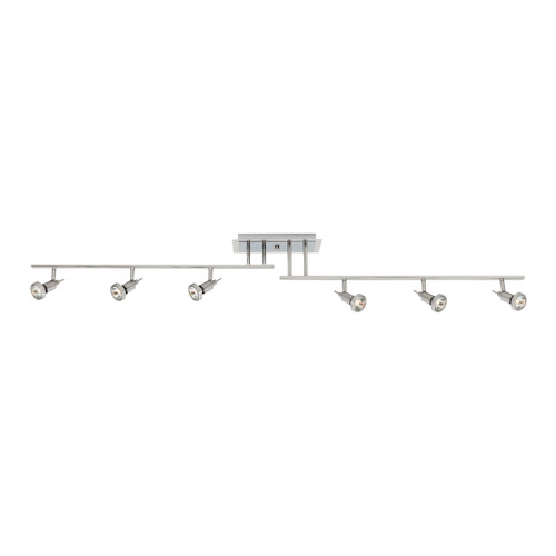 Access Lighting Viper Collection 6-Light LED Off-Set Semi-Flush in Bronze Finish