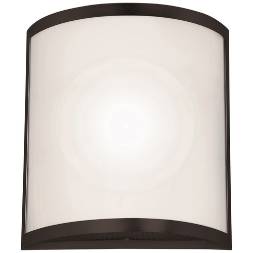 Access Lighting Artemis Wall Sconce in Bronze with Opal Glass, 20439-BRZ/OPL