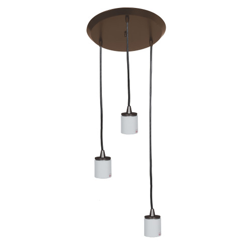 Access Lighting Circ Collection Round Pendant Assembly in Oil Rubbed Bronze Finish