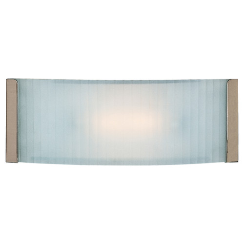 Access Lighting Helium Collection Wall & Vanity Fixture in Brushed Steel Finish