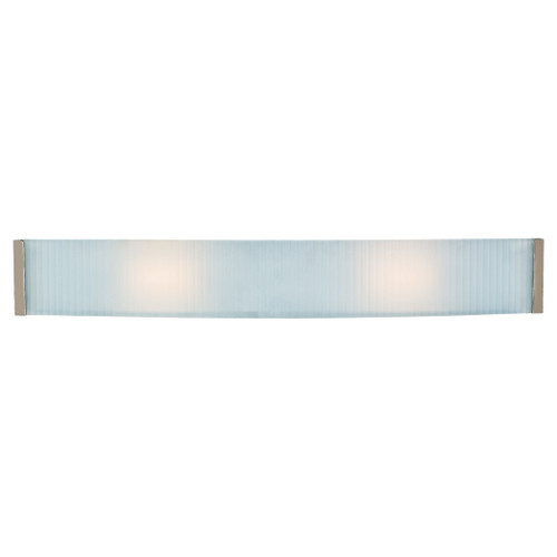 Access Lighting Helium Collection Dimmable LED Wall & Vanity Fixture in Brushed Steel Finish