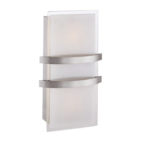 Access Lighting Metro Collection LED Wall Fixture in Brushed Steel Finish