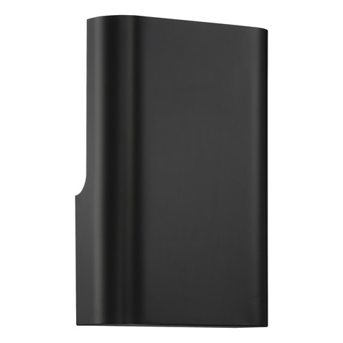 Access Lighting Punch Collection 1 Light Wall Washer in Black Finish