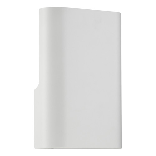Access Lighting Punch Collection 1 Light Wall Washer in White Finish