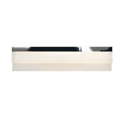 Access Lighting Linear Collection Dimmable LED Vanity in Chrome Finish