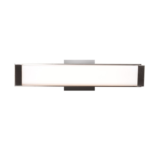 Access Lighting Fjord Collection Dimmable LED Vanity in Brushed Steel Finish
