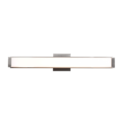 Access Lighting Fjord Collection Dimmable LED Vanity in Chrome Finish