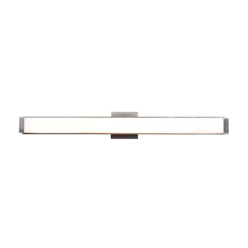 Access Lighting Fjord Collection (xl) Dimmable LED Vanity in Brushed Steel Finish