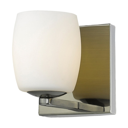 Access Lighting Serenity Collection 1-Light Vanity in Mirrored Stainless Steel Finish