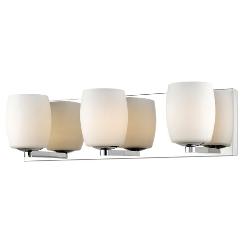 Access Lighting Serenity Collection 3-Light Vanity in Mirrored Stainless Steel Finish
