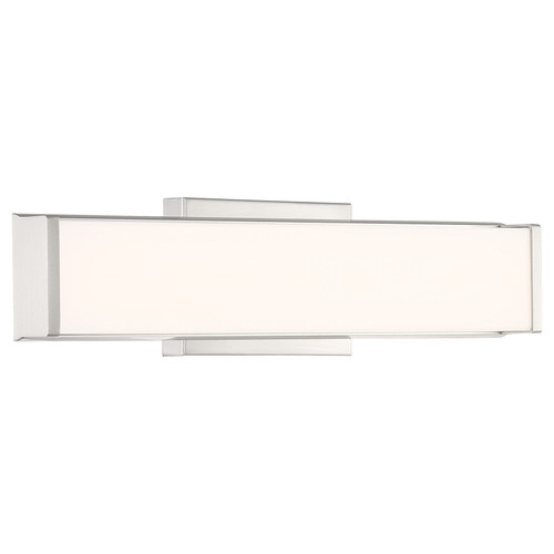 Access Lighting Citi Collection LED Vanity in Brushed Steel Finish