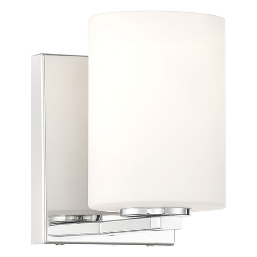 Access Lighting Oslo Collection 1 Light Wall Sconce in Chrome Finish
