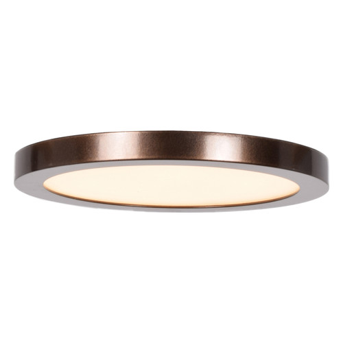 Access Lighting Disc LED Flush Mount in Bronze with Acrylic Lens Glass, 20810LEDD-BRZ/ACR