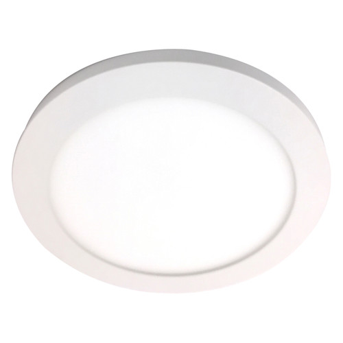 Access Lighting Disc LED Flush Mount in White with Acrylic Lens Glass, 20811LEDD-WH/ACR