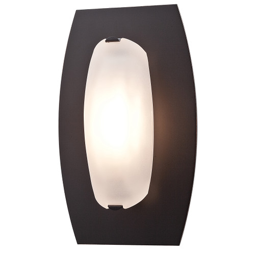 Access Lighting Nido Collection 1-Light Dimmable LED Wall Sconce in Oil Rubbed Bronze Finish