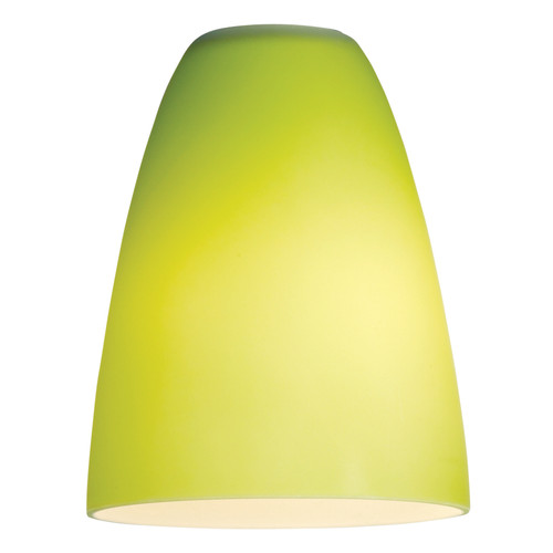 Access Lighting Inari Silk Pendant Glass Shade in  with Lime Green Glass, 23122-LGR