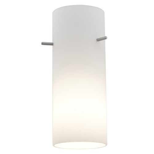 Access Lighting Cylinder Pendant Glass Shade in  with Opal Glass, 23130-OPL